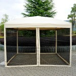 10x10 Screened Gazebo Tent