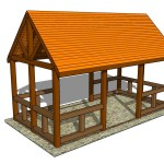 10x12 Rectangular Gazebo Plans