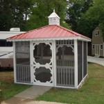 10x10 Gazebo Metal Roof