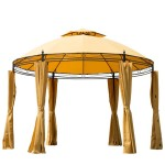 10x10 Metal Top Gazebo