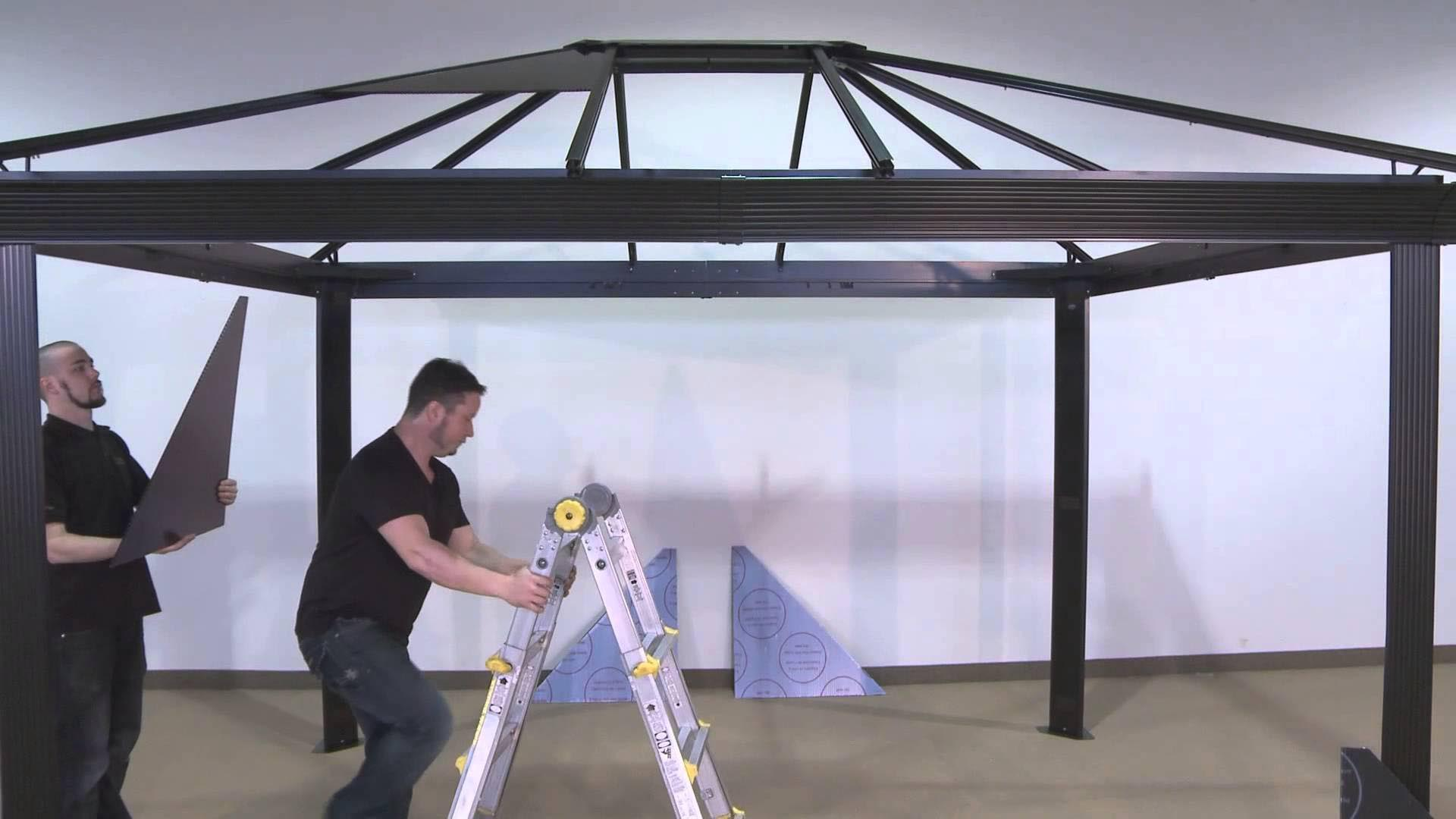 12x12 Metal Roof Gazebo