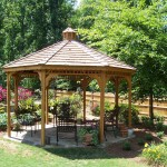 14 Octagon Gazebo Plans