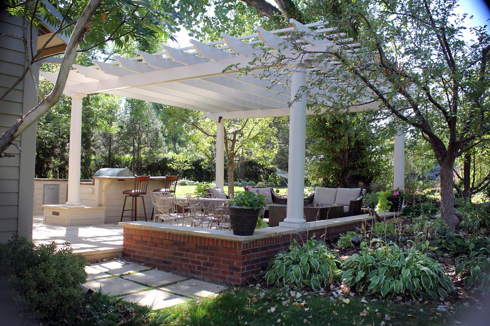 Aluminum Hardtop Gazebo Pavilion by Heath Zenith