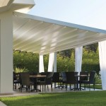 Aluminum Pergola with Retractable Roof