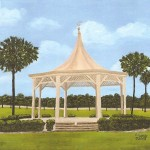 Backyard Creations 10x10 Metal Gazebo