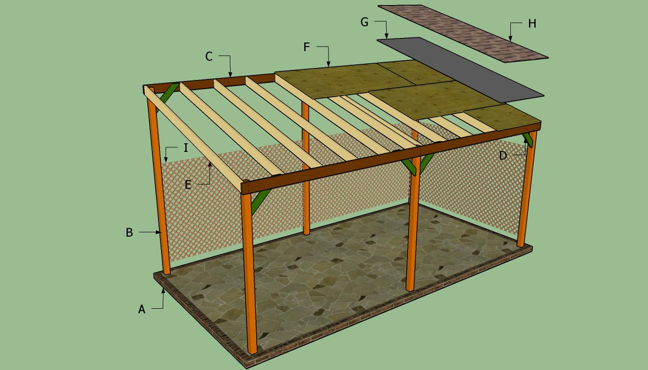DIY Wood Carport  Wood Carport Designs  Free Outdoor