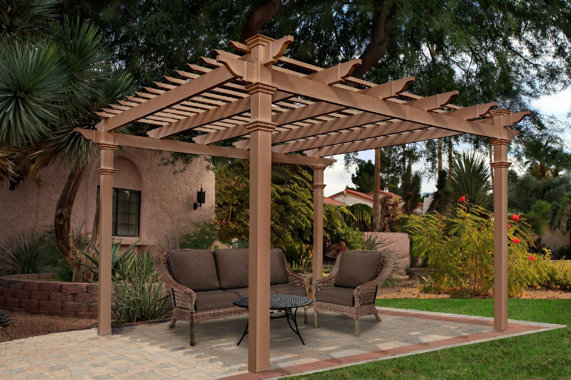 Cedar Gazebo Kits Costco | Pergola Design Ideas