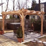 Cedar Wood Gazebo Kits