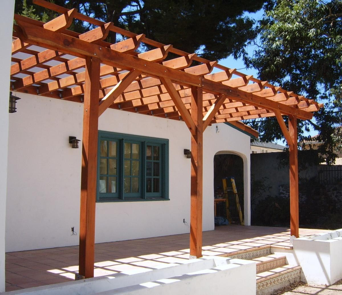cedar wood pergola kits pergola design ideas