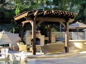 Composite Wood Pergola Kits
