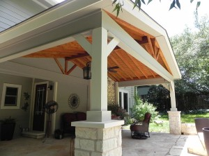 Convert Pergola to Covered Patio