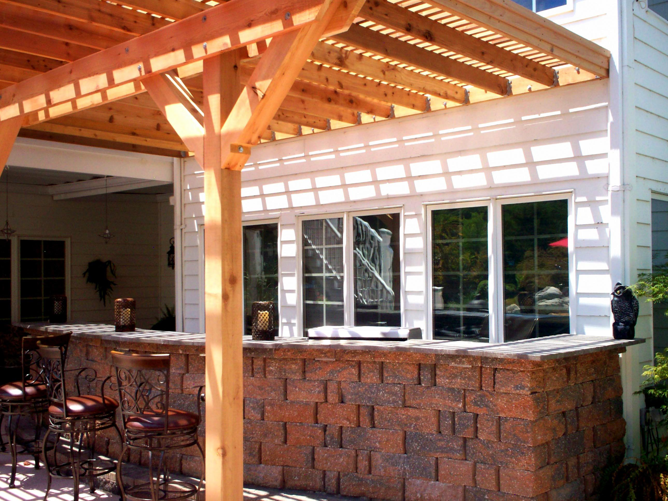 Covering a Pergola for Shade