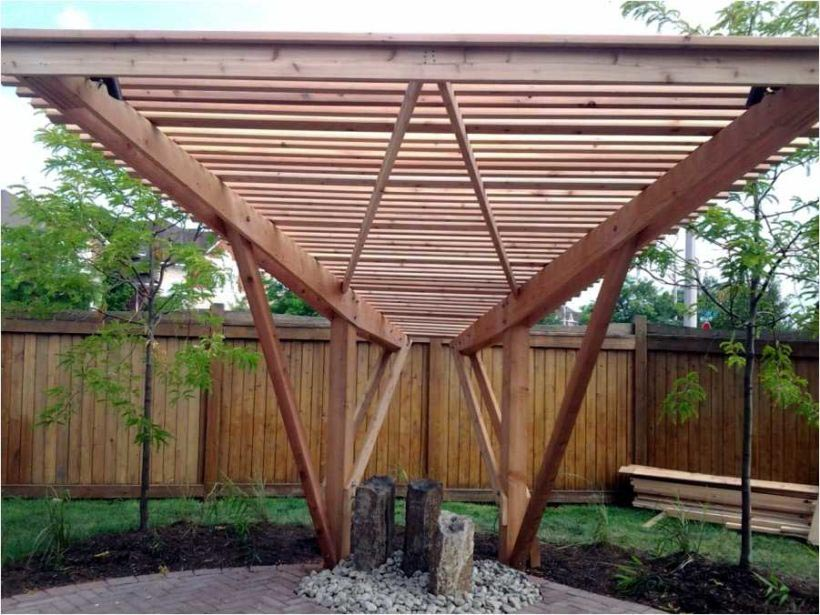 Covering a Pergola with Fabric