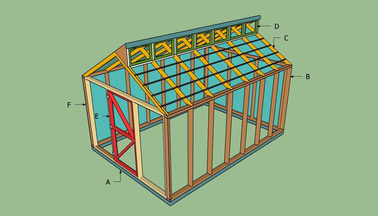 DIY Gable Pergola Plans
