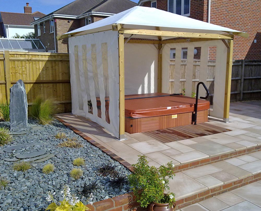 Diy hot tub gazebo kits pergola design ideas for Diy hot tub gazebo