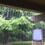 DIY Pergola Rain-cover