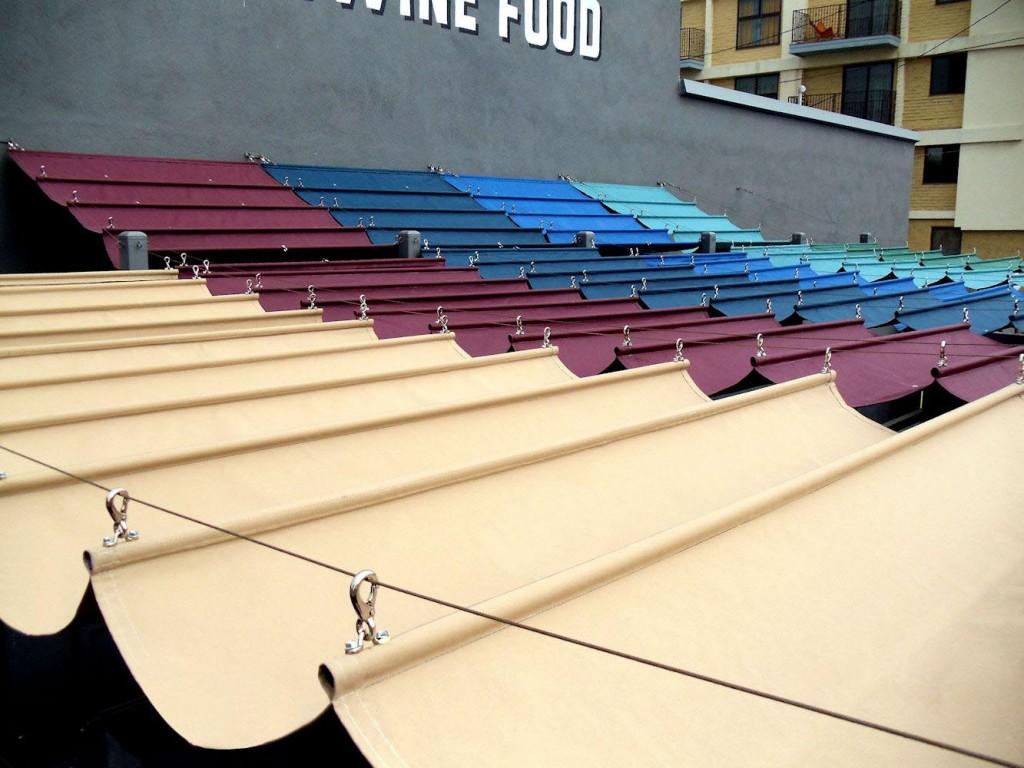 DIY Retractable Canopy Pergola