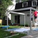 DIY Steel Pergola Plans
