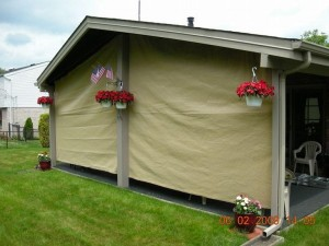 Fabric Cover for Pergola