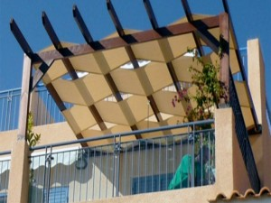 Fabric Coverings for Pergolas