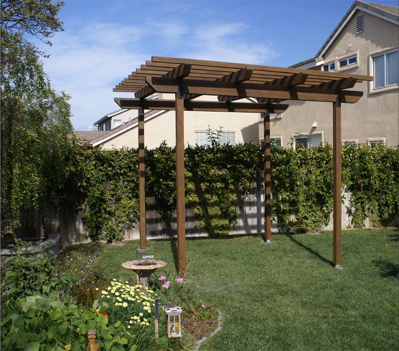 Faux Wood Pergola Kits