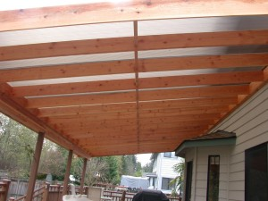 Fiberglass Roof Panels for Pergola