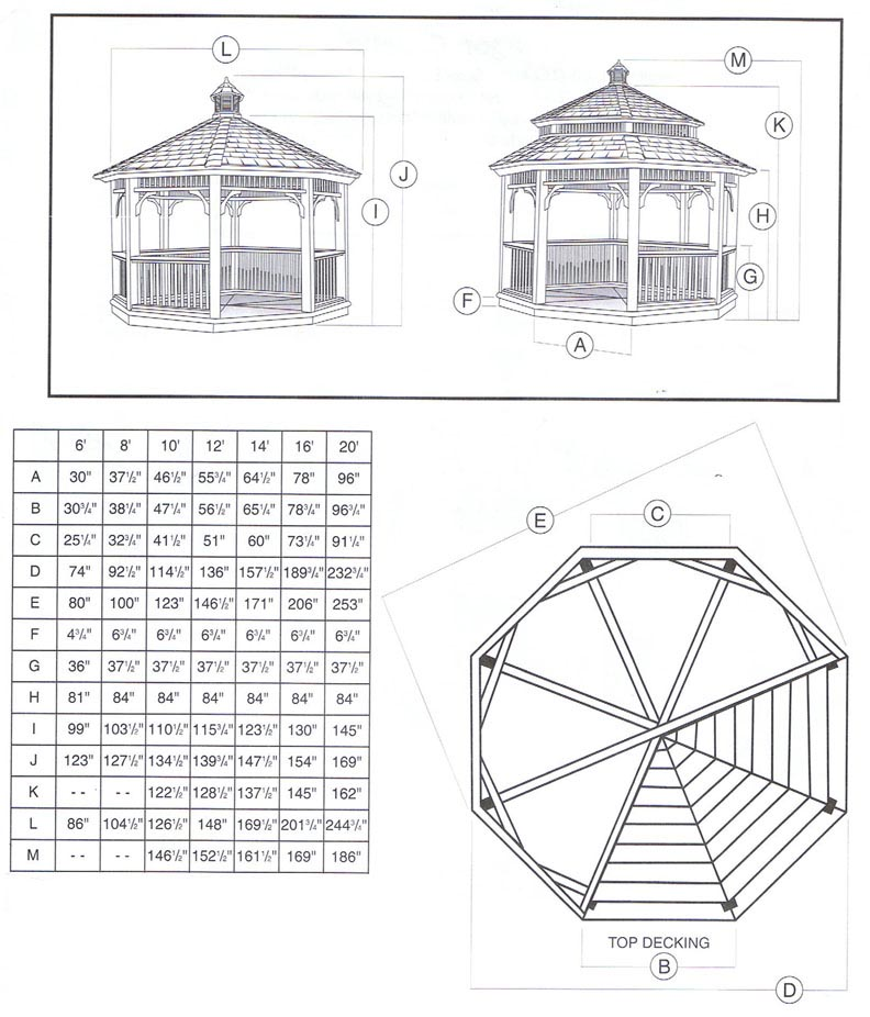 Gazebo roof plans for Free cupola plans