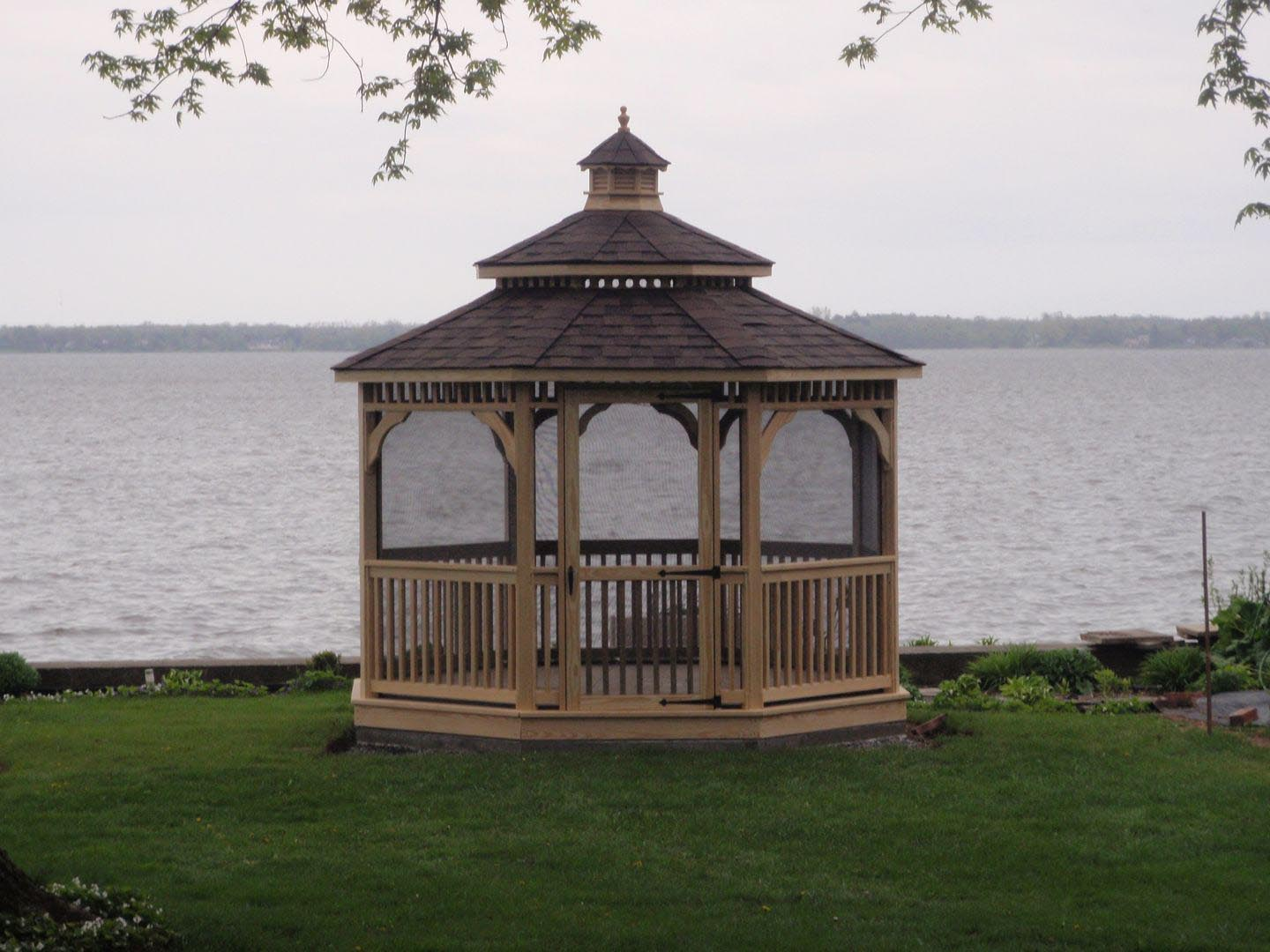 Free Plans for Wooden Gazebo