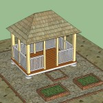 Free Rectangular Gazebo Plans