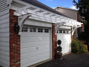 Garage Door Pergola Kit