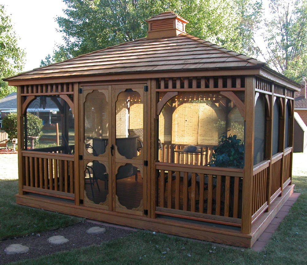 Gazebo Kits with Screens