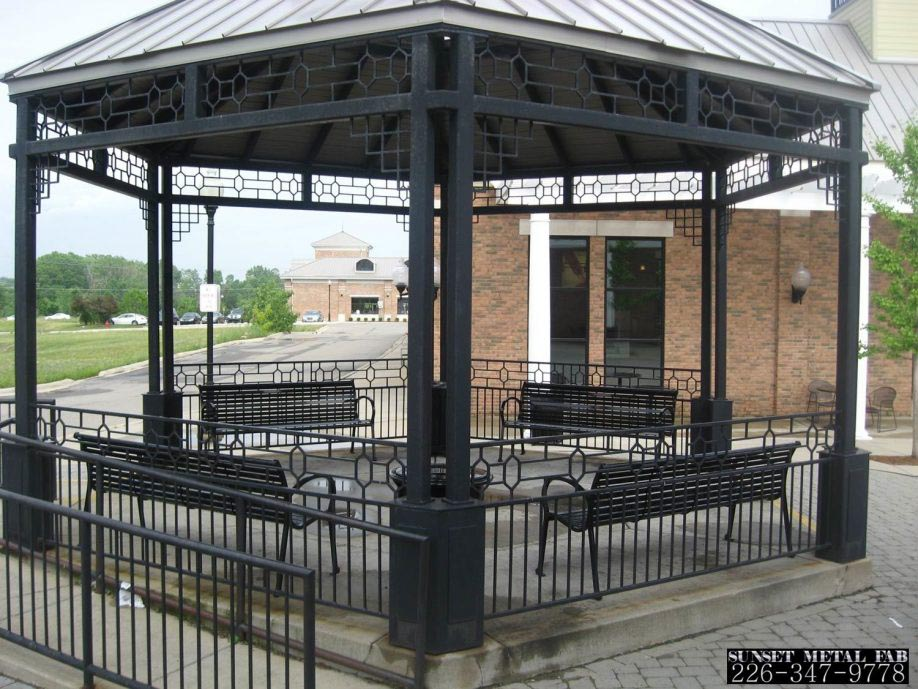 Gazebo Metal Frame Replacement Parts