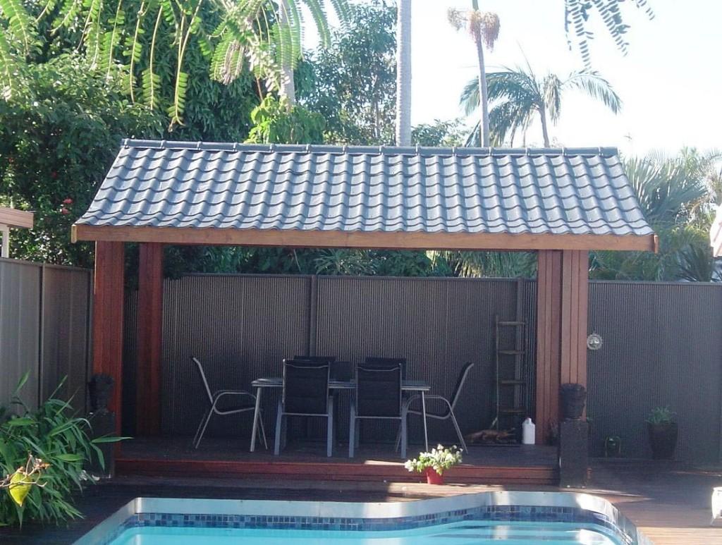 Gazebo Metal Roof Replacement