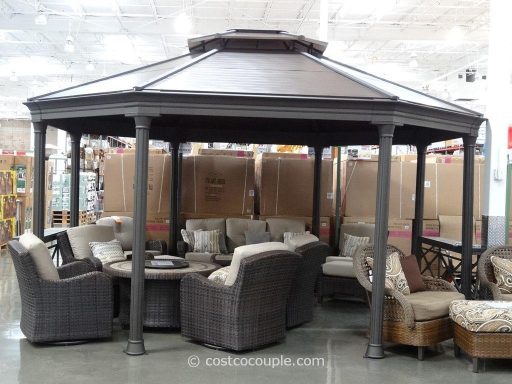 Gazebo with Metal Frame