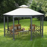 Gazebo with Metal Top