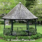 Hexagonal Wooden Gazebo Plans
