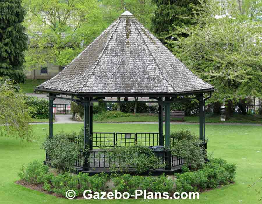 Hexagonal Wooden Gazebo Plans Pergola Design Ideas