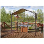 Living Home Outdoors Aluminum Hardtop Gazebo