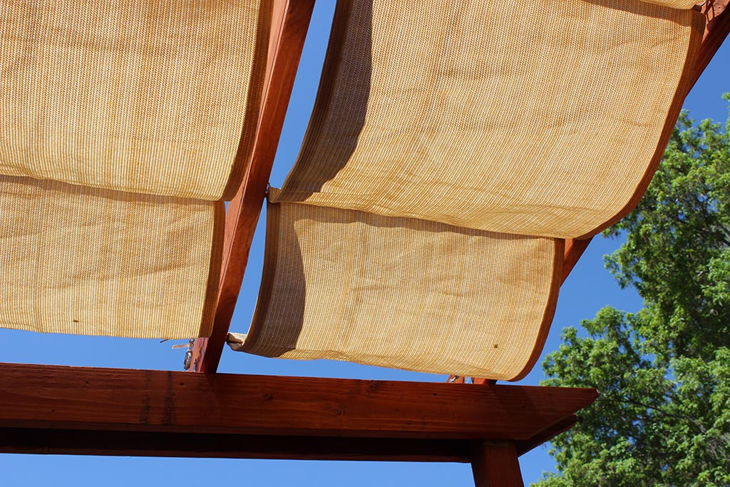 Make Pergola Shade Canopy