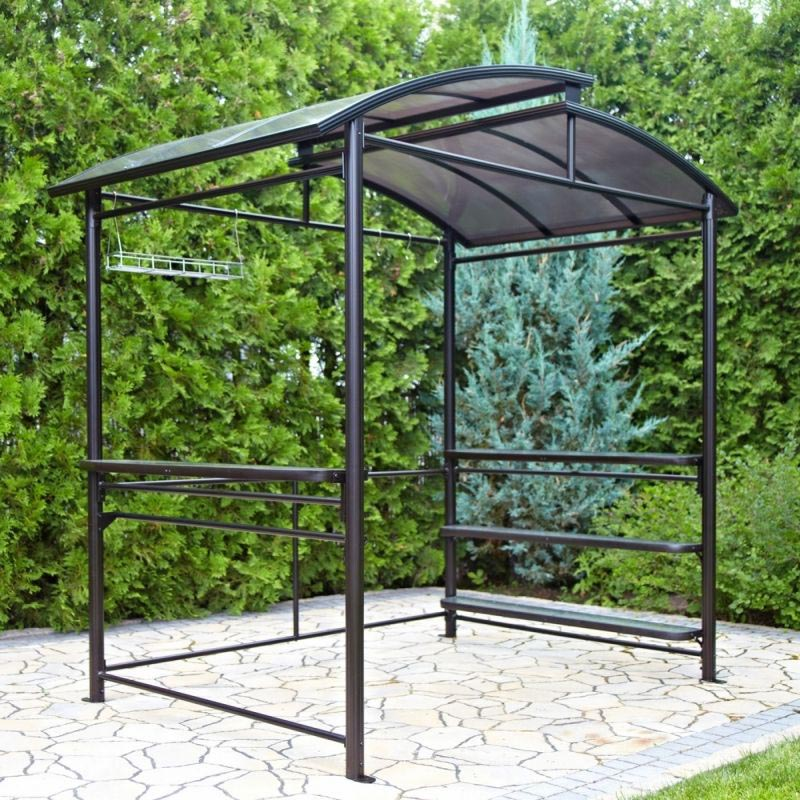 Metal Gazebo Kits Black