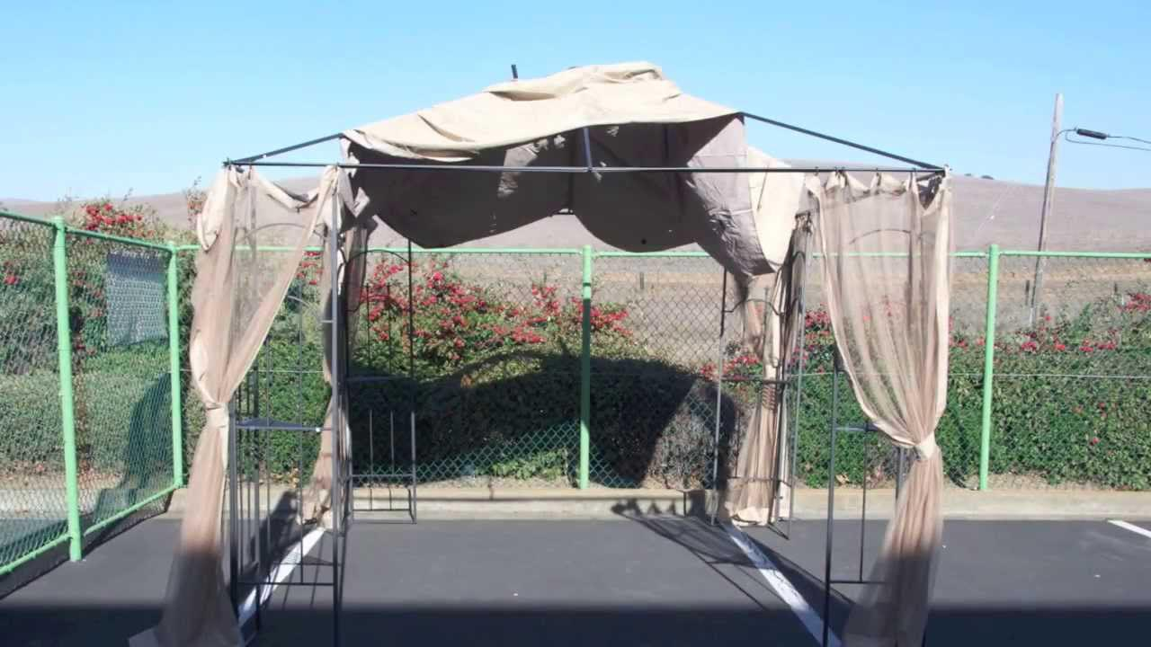 Metal Gazebo Roof Replacement