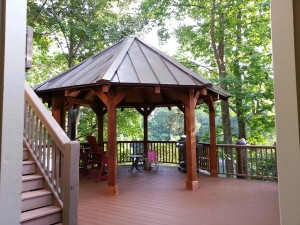 Metal Gazebos with Metal Roof