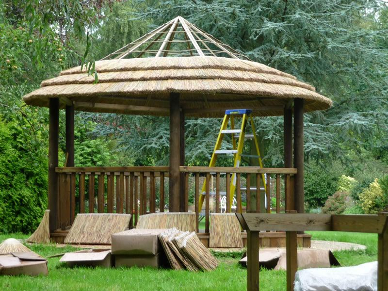 Metal Roof Gazebo Kits