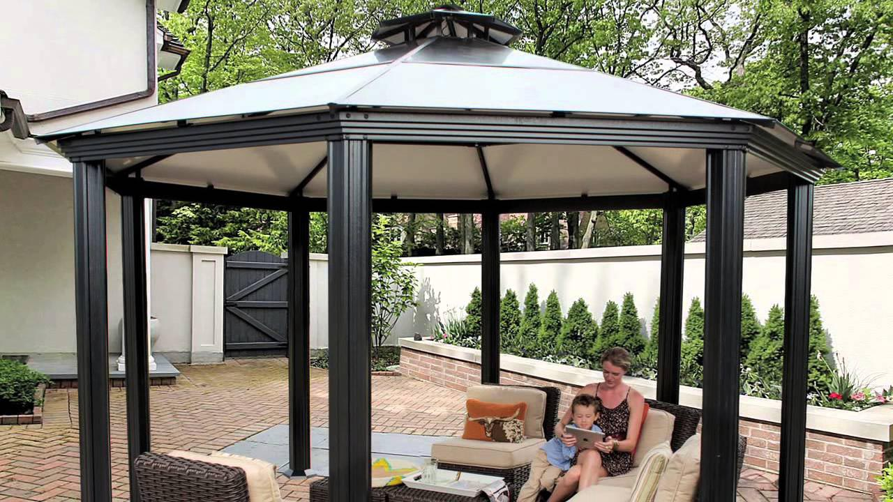 Metal Roofed Gazebo Kits