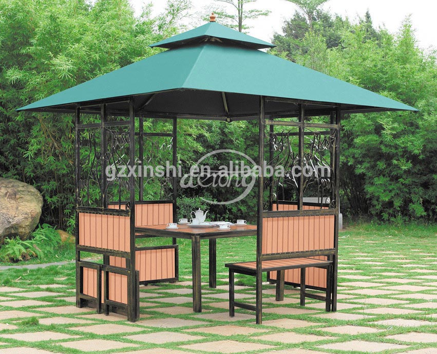 Metal Top Gazebo Patio