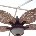 Outdoor Gazebo Fan Light