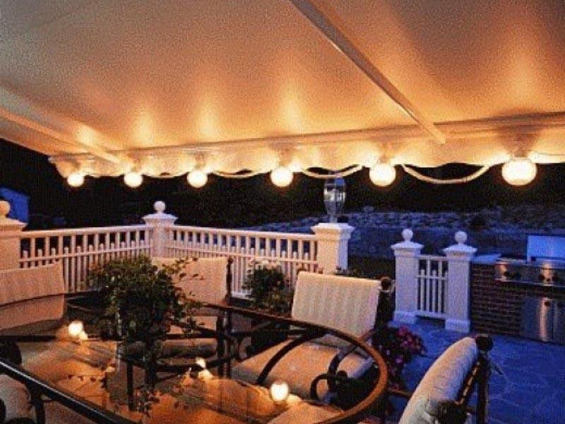Outdoor Gazebo Solar Lights