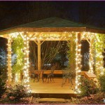 Outdoor Gazebo String Lights