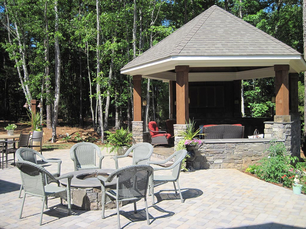 Outdoor Gazebos With Screens Pergola Design Ideas
