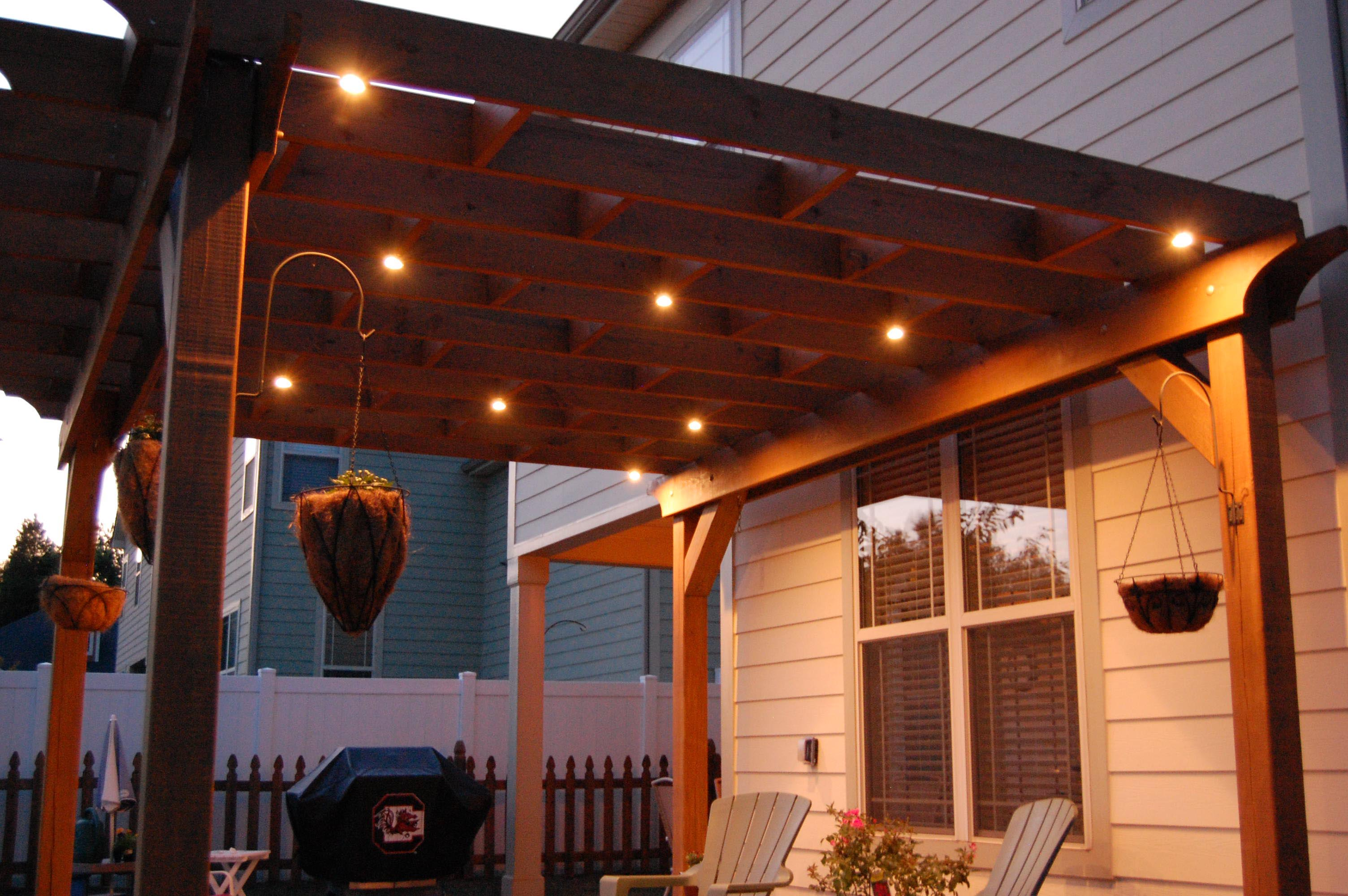 Outdoor Lighting Pergola Ideas